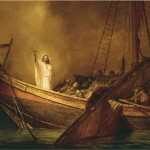 Christ Calming the storm